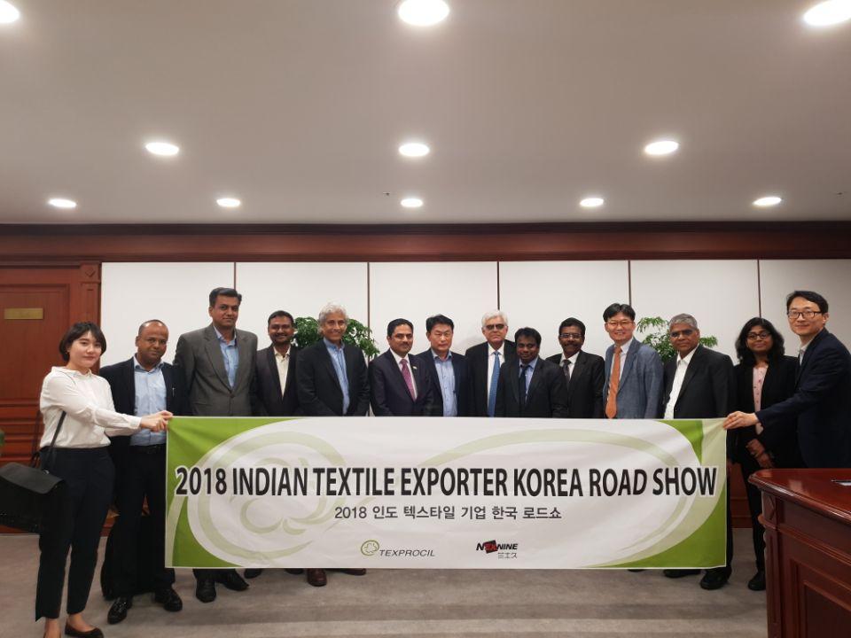 Delegation to South Korea with the Indian Ambassador Shri Vikram Doraiswami