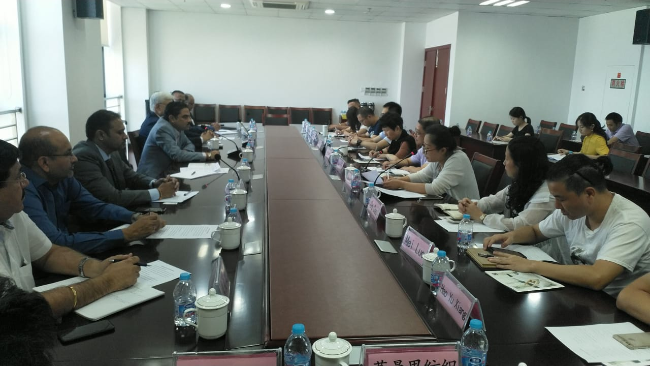 TEXPROCIL organises B2B meeting between Indian textile exporters &  Home Textile companies in Haimen, Jiangsu province, China with an  objective to increase export of fabrics from India for conversion in China.