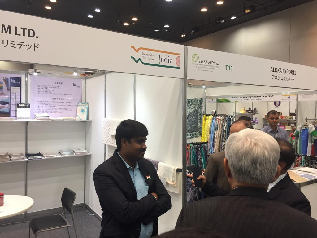 Indian Exporters at 5th India Trend Fair held in Japan, Tokyo from 24-26 July 2019