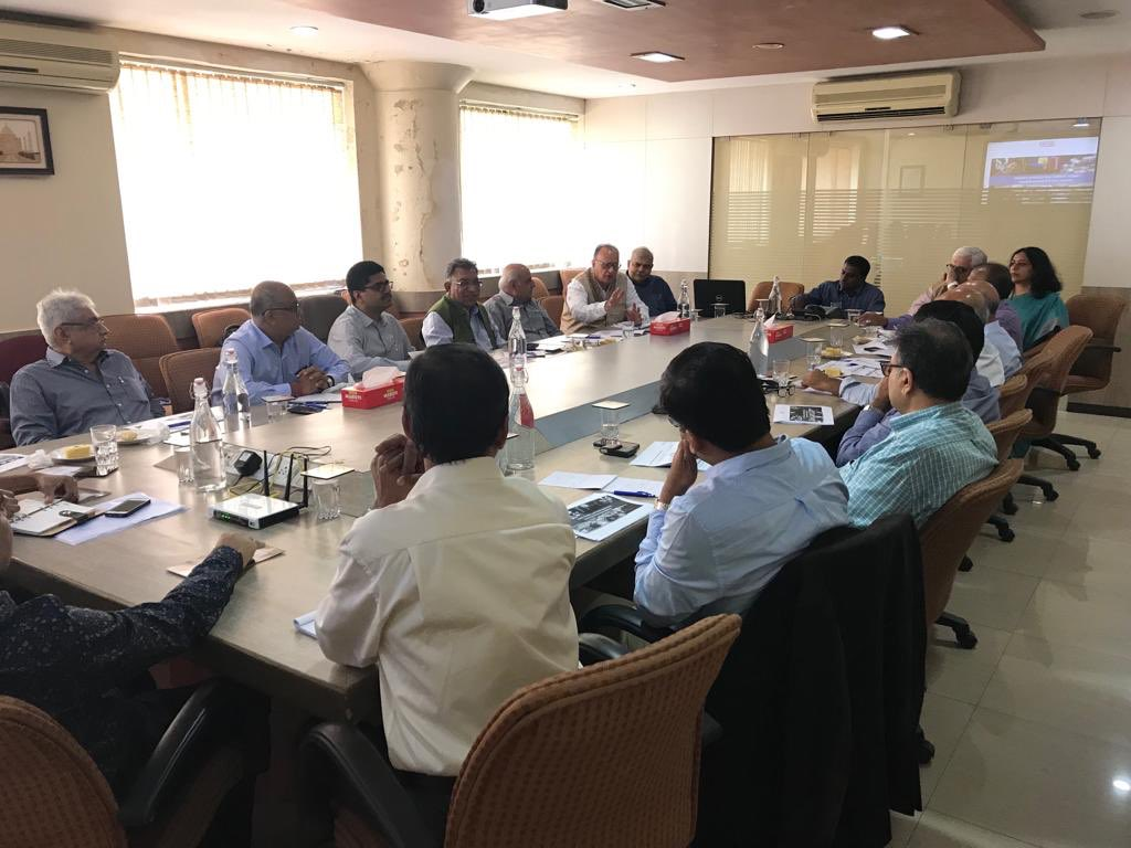 National Committee on Textiles & Clothing (NCTC) meets @ TEXPROCIL H.O. in Mumbai on 28th Sept 2019