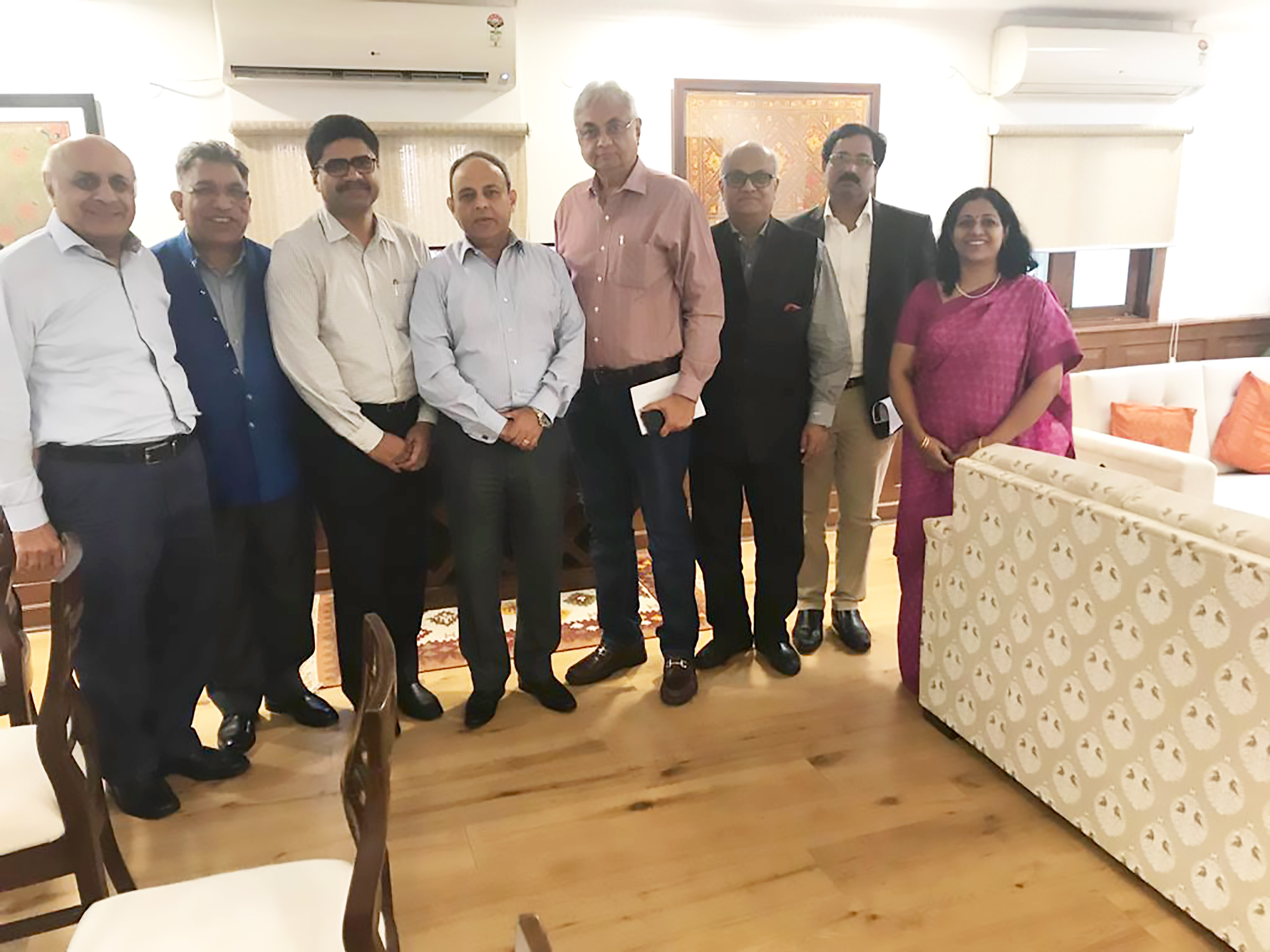 National Committee on Textiles and Clothing (NCTC) in a meeting with Shri Ravi Capoor, Secretary, Ministry of Textiles on 4th October 2019 in New Delhi