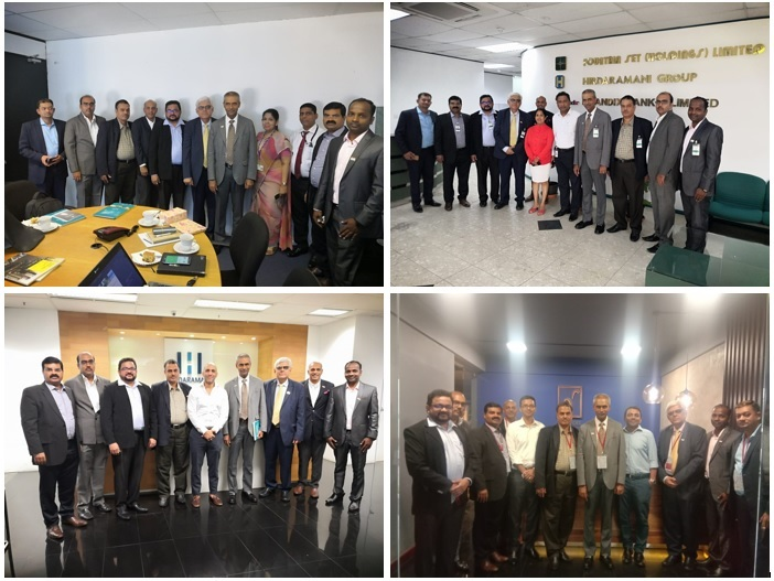Indian Delegation held meetings with Investment Development Board (IDB) & leading brands manufacturers and visited their factories in Sri Lanka