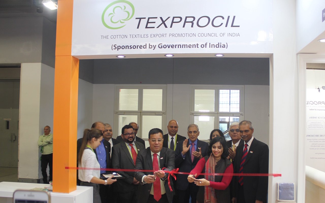 Inauguration of Texprocil Pavilion @ Heimtextil 2020