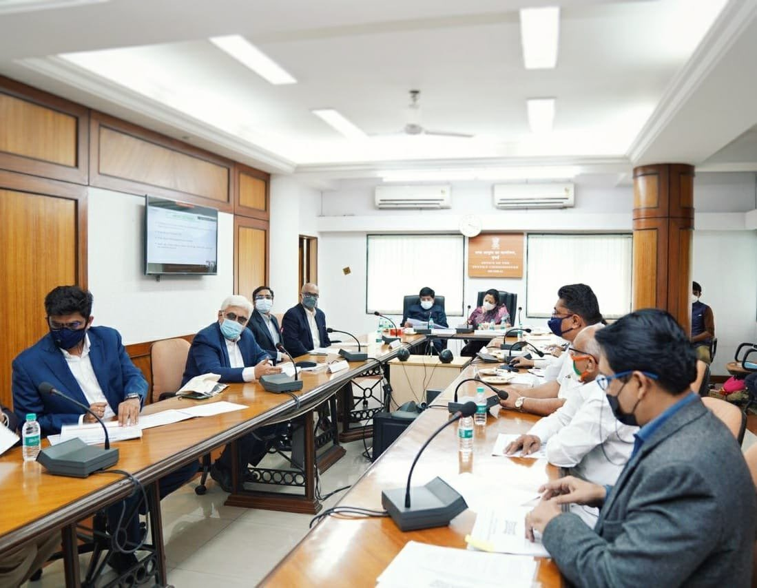 TEXPROCIL in a Meeting with Officials of MINISTRY OF TEXTILES