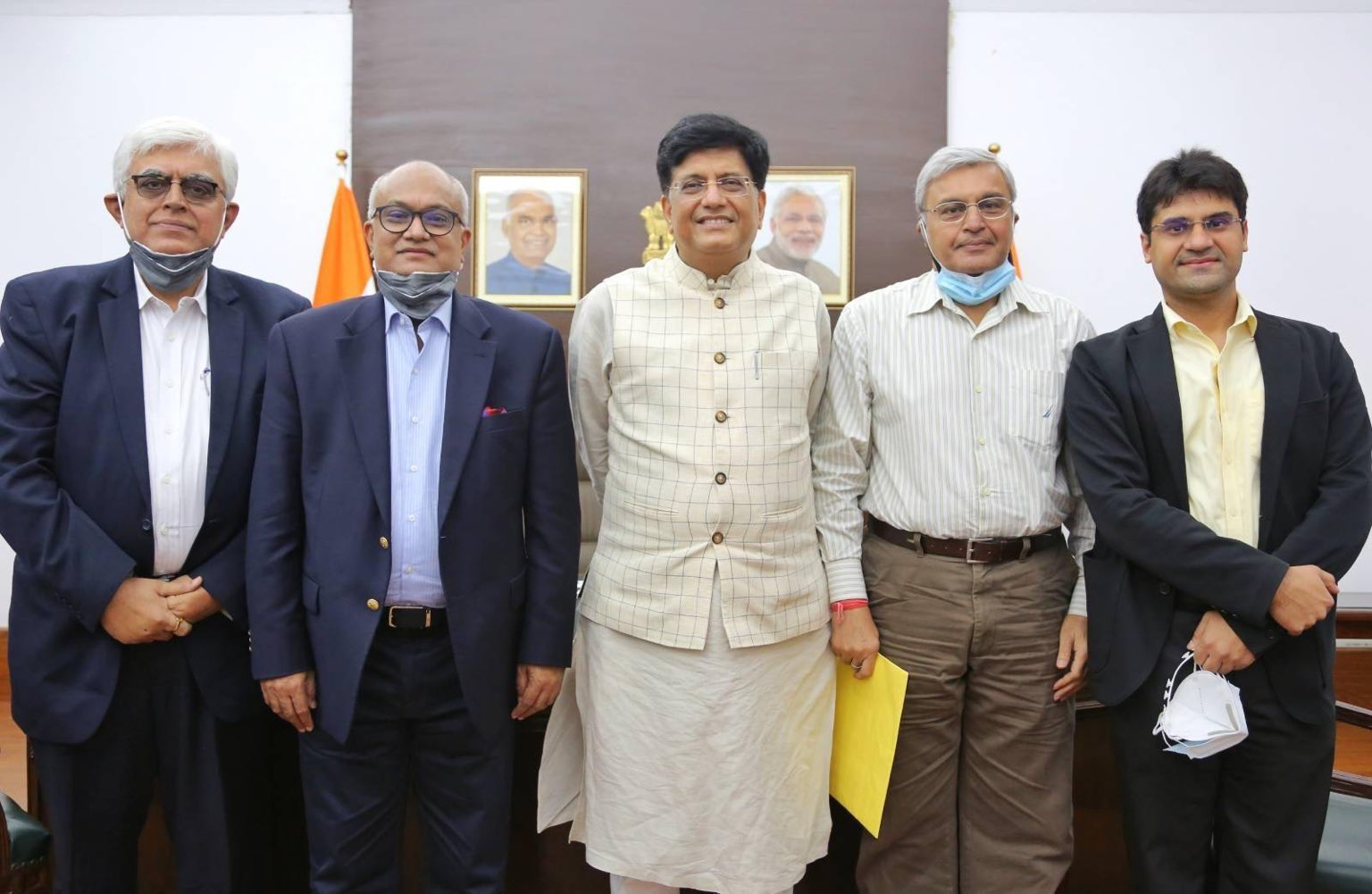 TEXPROCIL in a Meeting with Shri Piyush Goyal, Hon'ble Union Minister of Textiles, Commerce & Industry, Consumer Affairs and Food & Public Distribution on 29th July 2021 in New Delhi