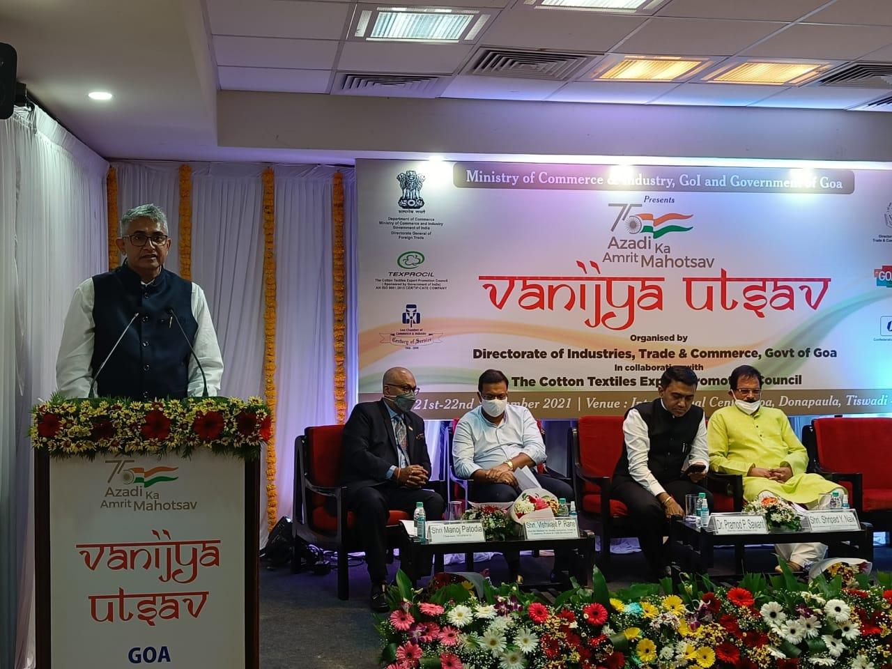 TEXPROCIL in Goa @VanijyaMahotsav, #AzadiKaAmritMahotsav